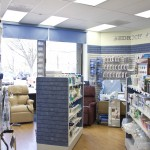 Images of CARE pharmacies on March 29, 2012.